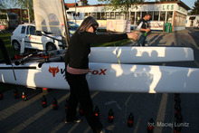 Chrzest nowego katamarana klasy A - WingFox